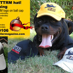 Total Rottweiler Magazine Baseball Hats