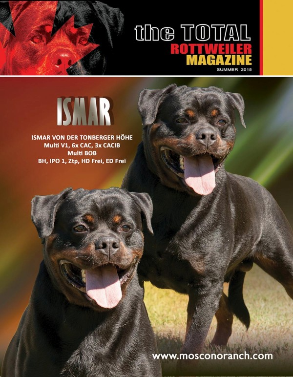 Issue 3 Of 2014 Download The Total Rottweiler Magazine
