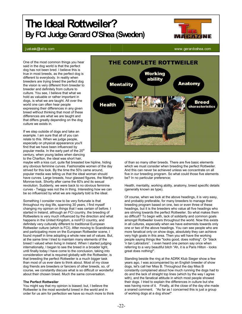 Gerard Oshea article - 1