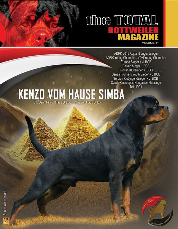 Issue 4 Of 2014 The Total Rottweiler Magazine