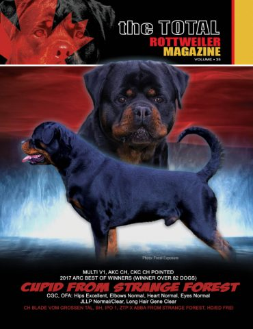 Volume 37 The Total Rottweiler Magazine