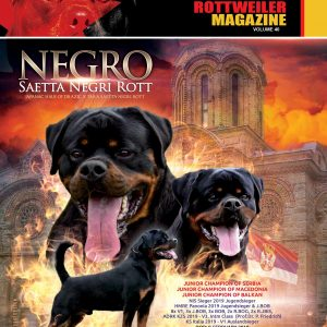 Total Rottweiler Magazine Cover Volume 40