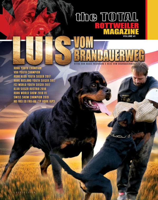 Total Rottweiller Magazine Volume 41