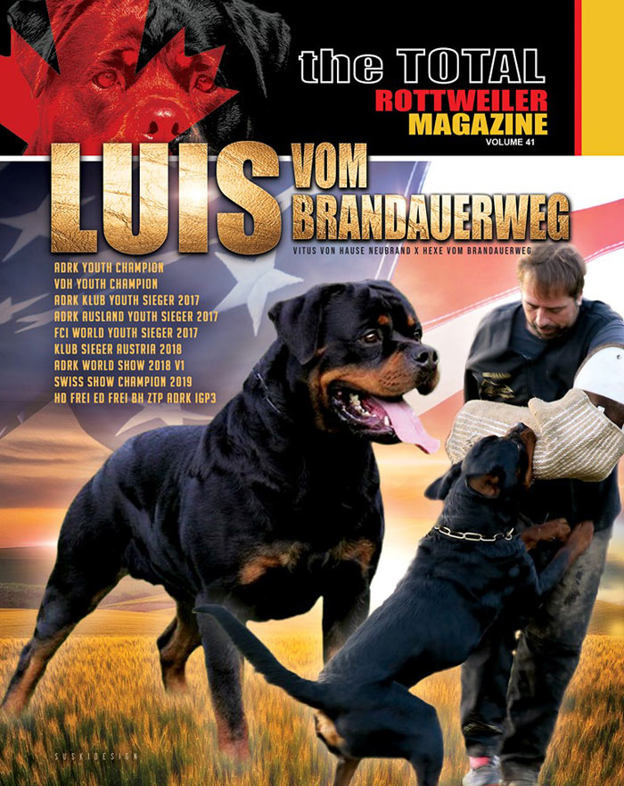 Total Rottweiler Magazine Cover Volume 41